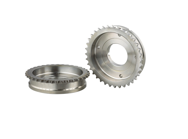 Air intake sprocket,used in VVT,assembled in engine system,made by powder metallurgy