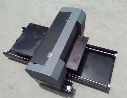 cheap A3 size 6 colors flatbed digital printer/ T-shirt printer/ Direct to  Garment (DTG) printer