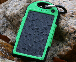 Aonmi solar charger , 5000mah solar charger for mobile