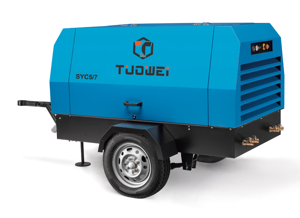 Mobile Air Compressor >> 102psi Pneumatic Tool Mobile Air Compressor From China Manufacturer