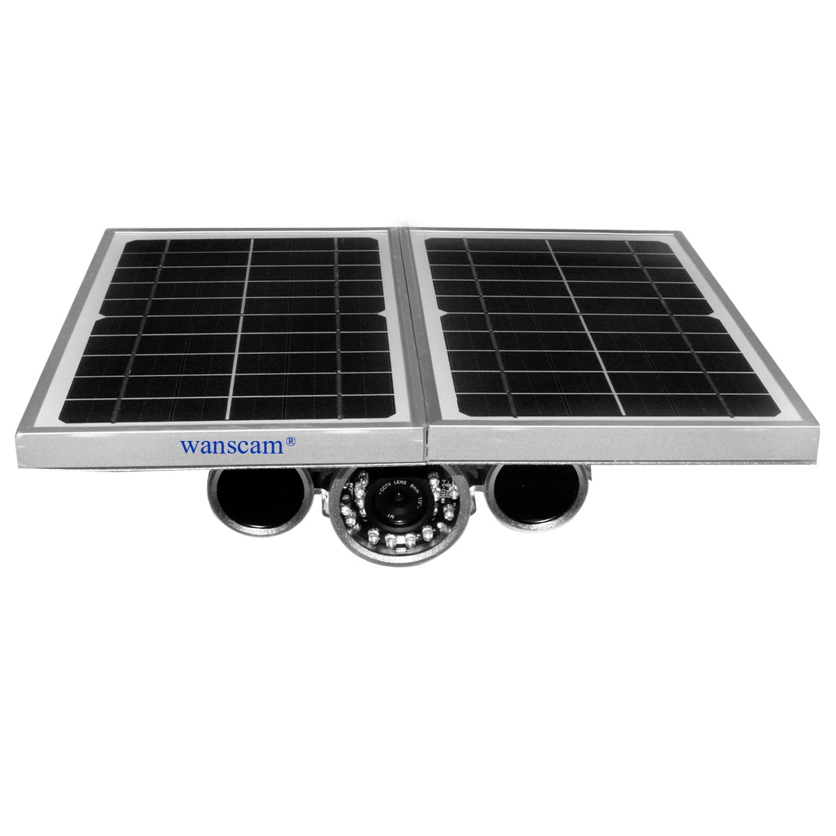 Wanscam HW0029 Solar Power Bullet IP Camera Built-in SD Card Support NVR