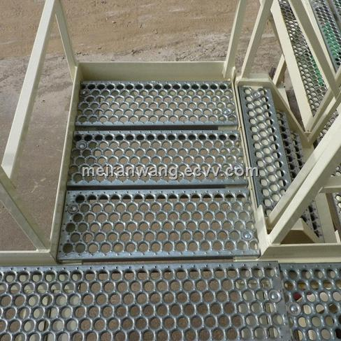 Anti Skid Perforated Metal Stair Treads Purchasing