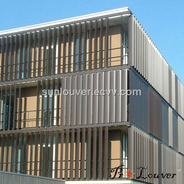 Vertically Sun Louver From China Manufacturer Manufactory