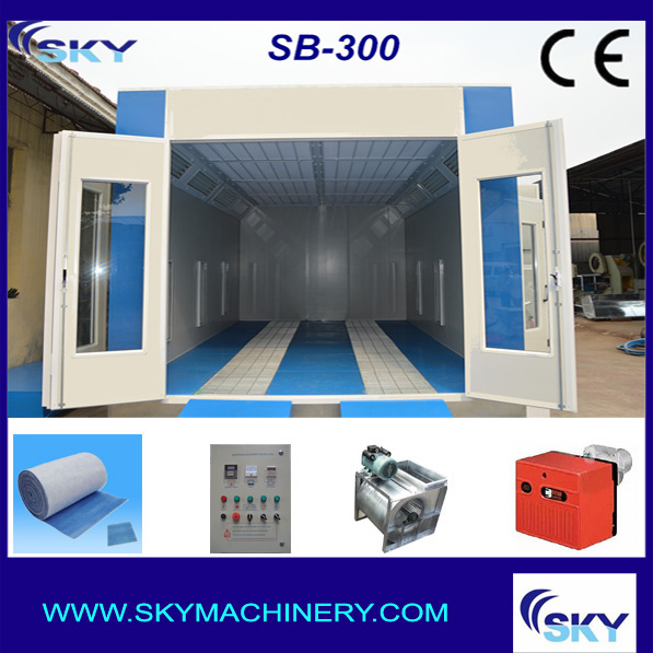 SB-300 light truck spray baking oven/spray booth