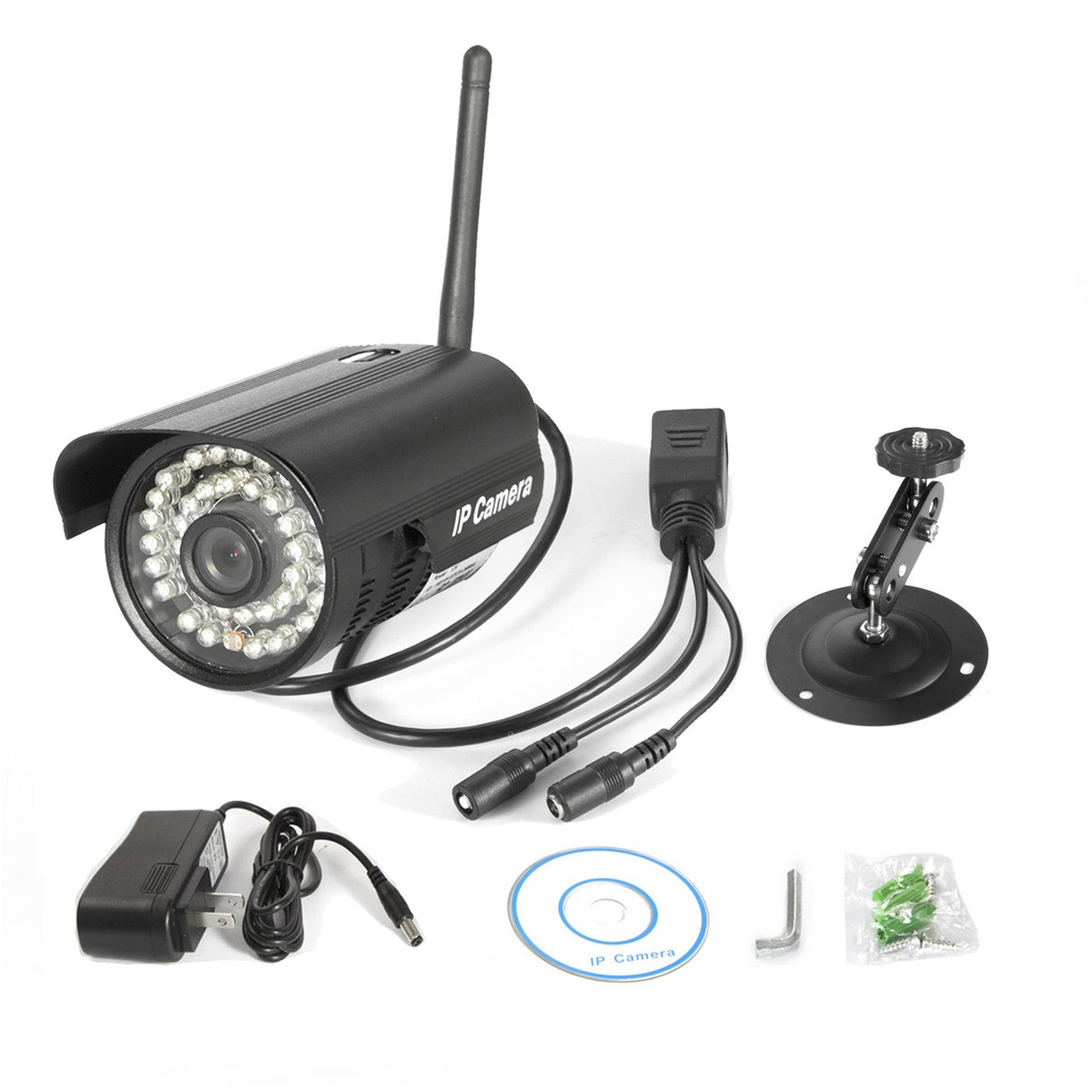aly003 Wireless Network Outdoor Waterproof Security Wifi IP Camera