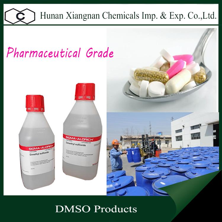 Professional High quality DMSO price dimethyl sulfoxide