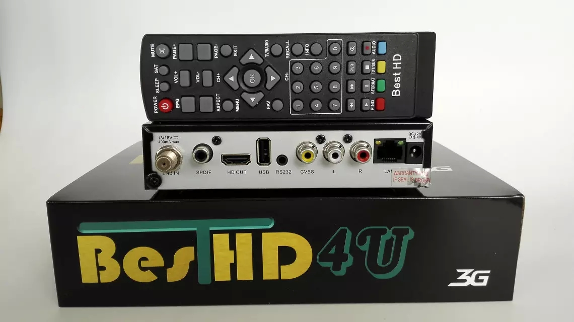 Best HD 4U DVB S2 Digital Satellite Receiver,Set top Box
