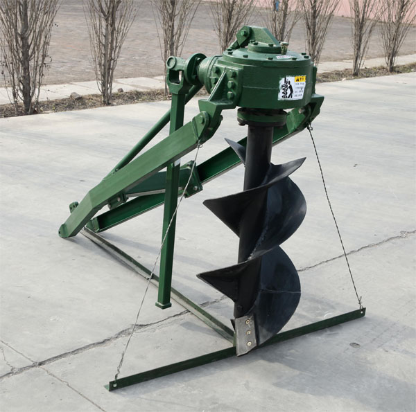 Ground hole drilling machine, post hole digger, earth auger, digger