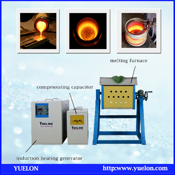 Metal smelting Machine Medium Frequency Induction Melting Furnace (MF-90)