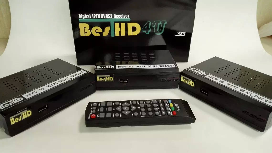 Satellite Receiver Box DVB-S2 HD Digital IPTV STB