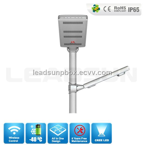 30w off grid integrated solar power outdoor lighting solar led street light  price list
