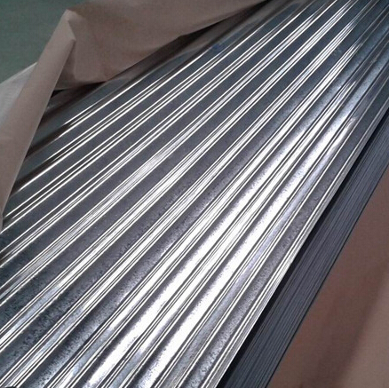 Galvanized steel tile