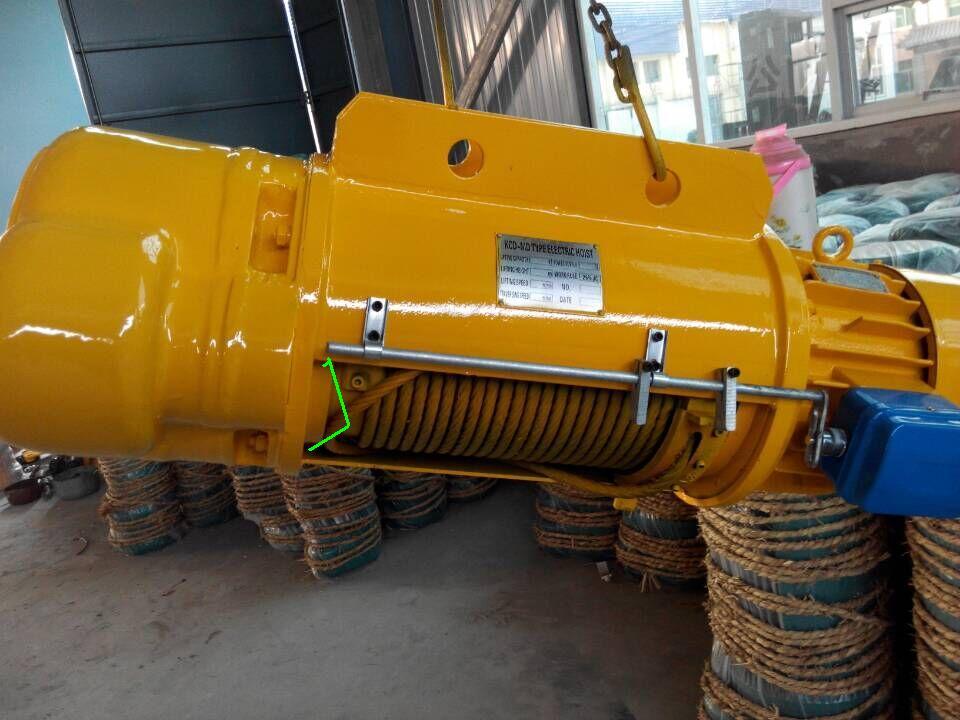CD1 high quality Electric wire rope hoist