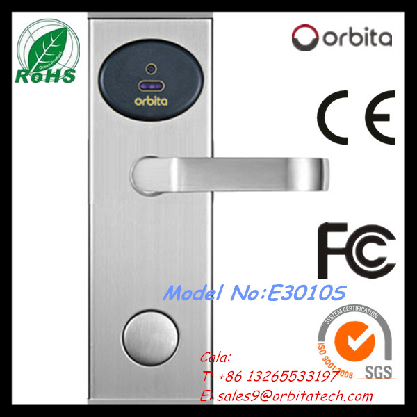 Digital security hotel keycard lock
