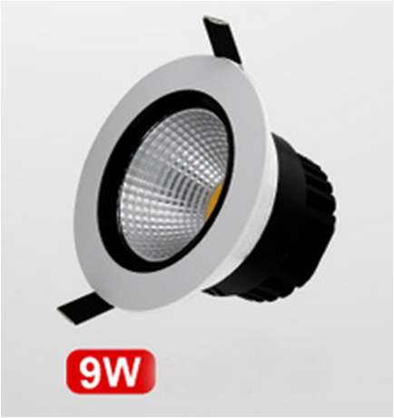 LED Down Light 9W High Power LED Light