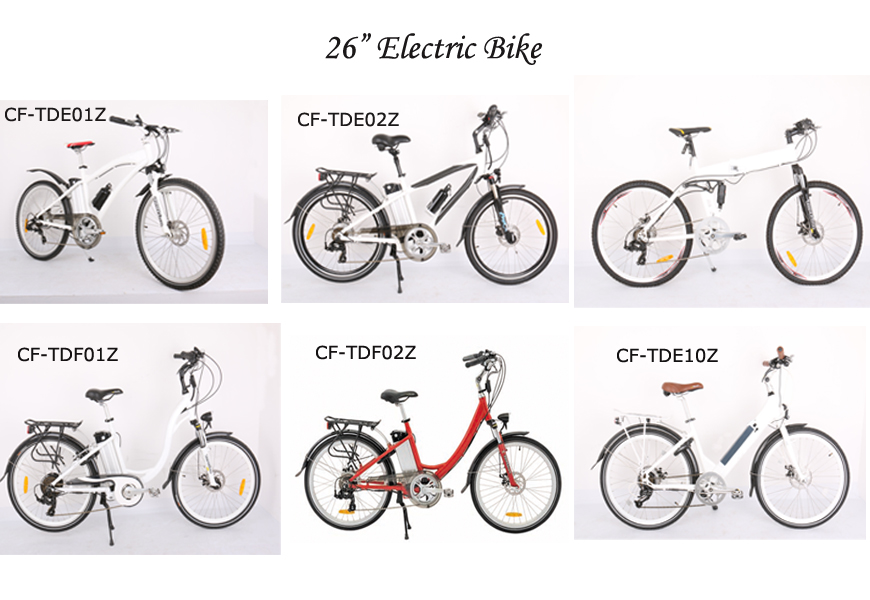 26 Electric Mountain Bike CFTDE01Z