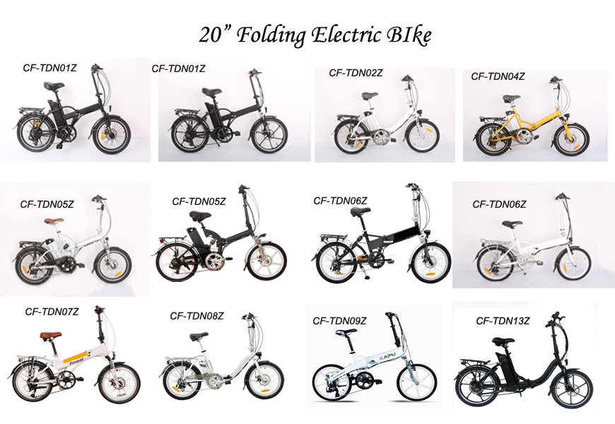 20Electric Folding Bicycle CFTDN04Z