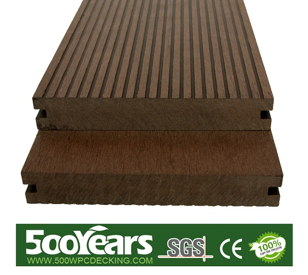 WPC solid decking 140*23mm