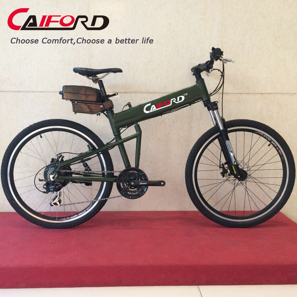 Comfort colorful electric bike