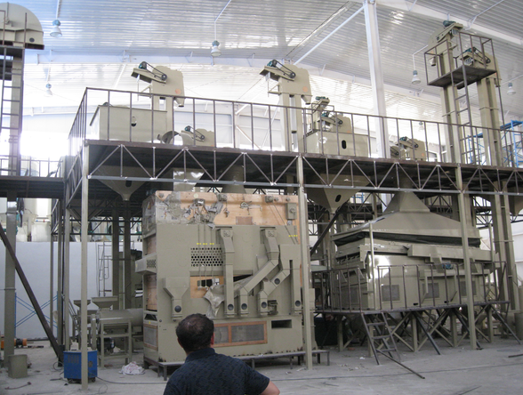 Bean Seed Cleaning Line /  Crop Seed Processing Plant