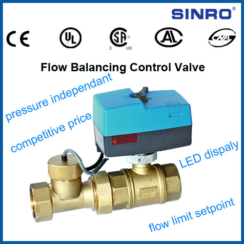 flow balancing control valve from China Manufacturer