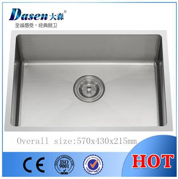 DS5743 handmade kitchen sink, stainless steel sink manufacturer ...