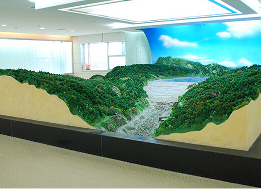 Sand Table Model / Military Terrain Model Customized Service