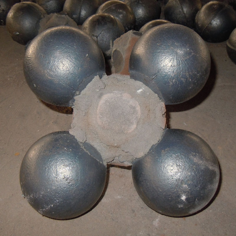 Stable Quality Low Price Cast Alloy Grinding Steel Balls for Ball Mill and Mining