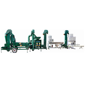 wheat maize barley grain processing line