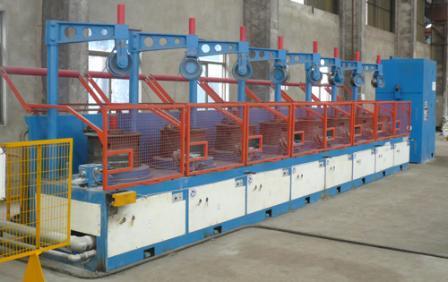 600 Pulley type wire drawing production line