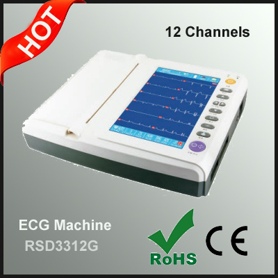 6/12 Channels ECG Machine Factory Price Good Quality