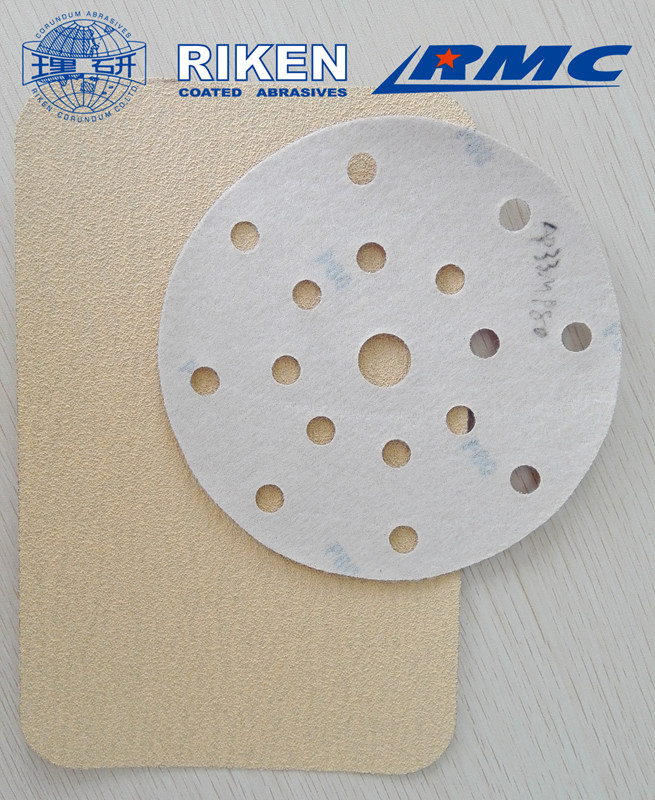 Dry Sanding Paper Disc with Velcro