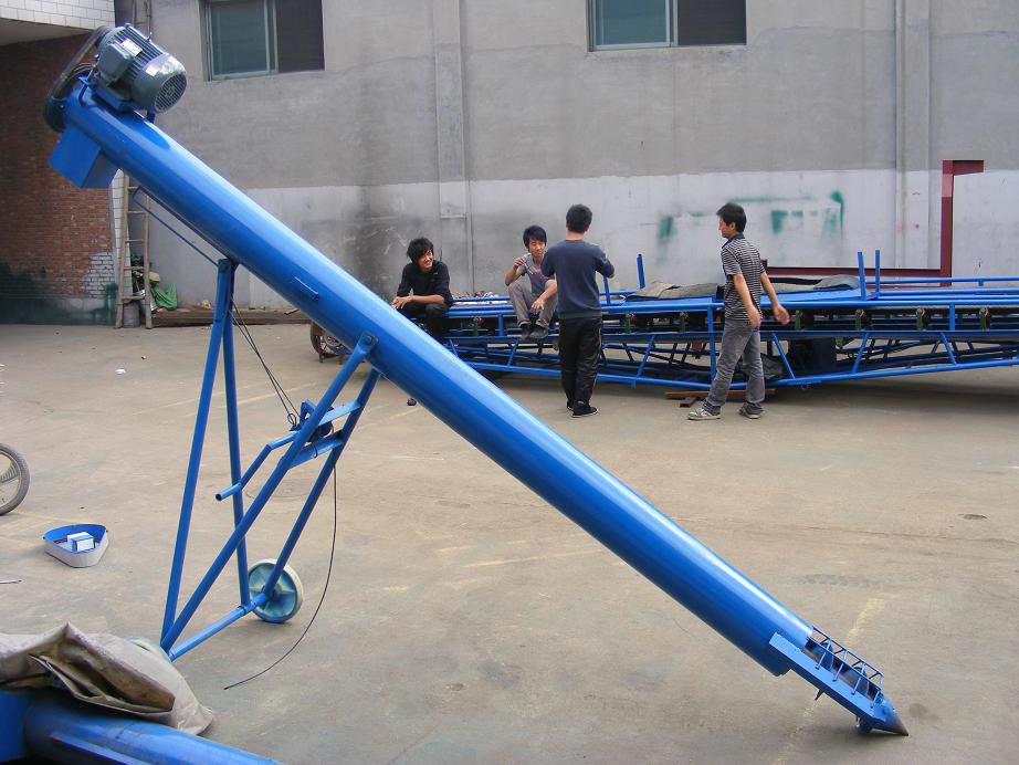 Wheat Corn Grain Screw Auger Conveyor