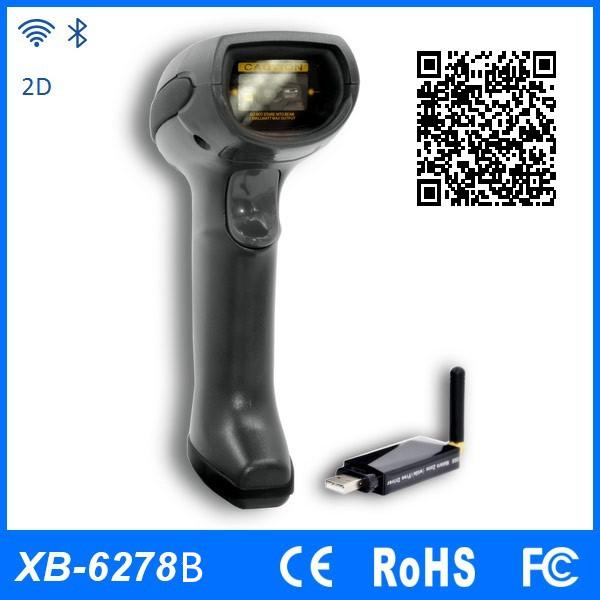 2D Bluetooth Barcode scanner/Portable wireles QR Code reader (XB