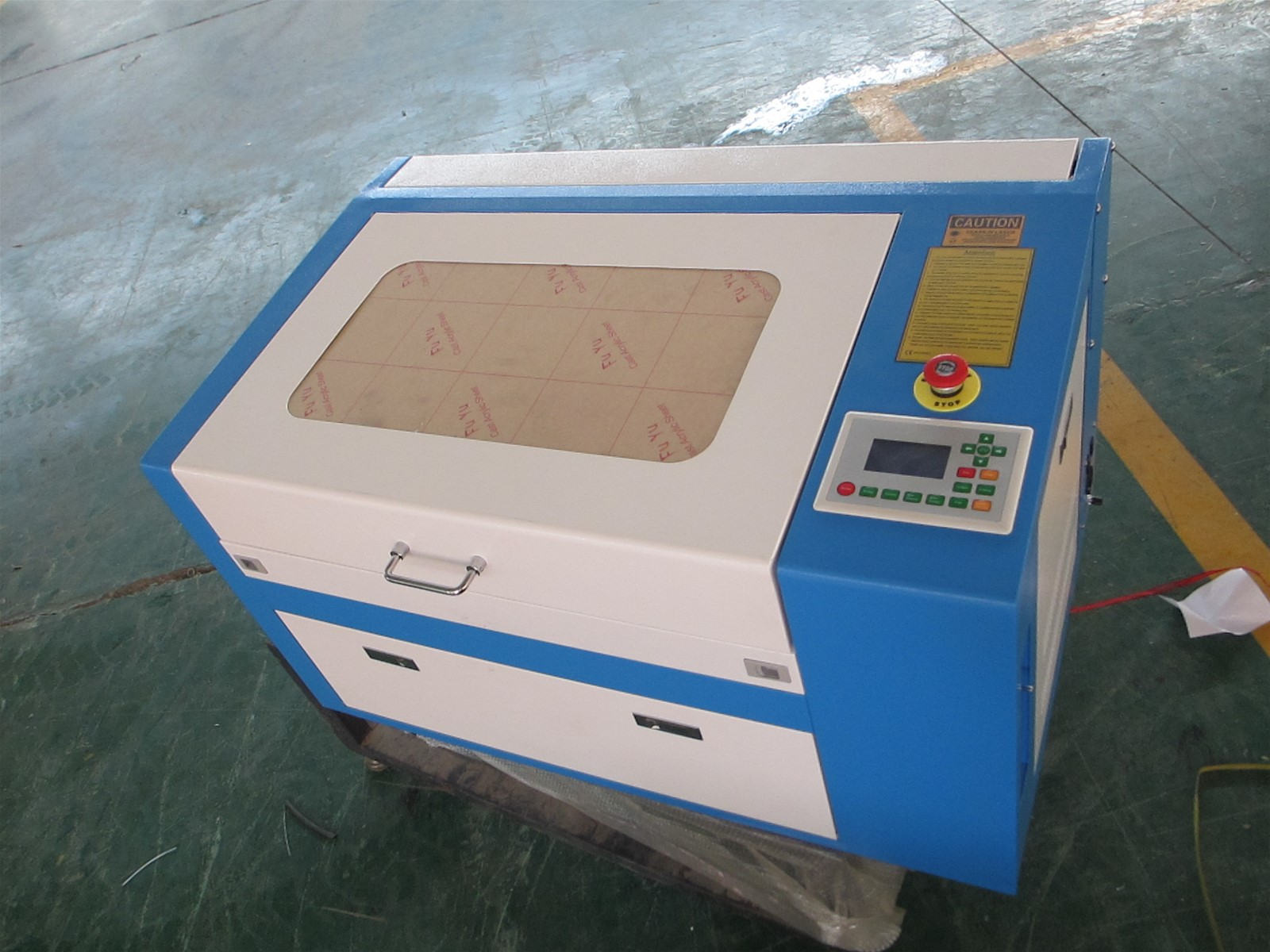 500*300mm laser engraving machine