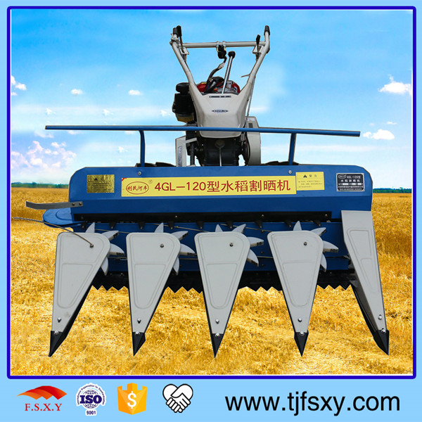 High Efficiency Agricultural Rice Cutting Machine Harvester