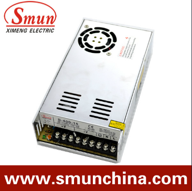 400W12V33A /15V 27A Switching Power Supply (S-400 With Selected Input)