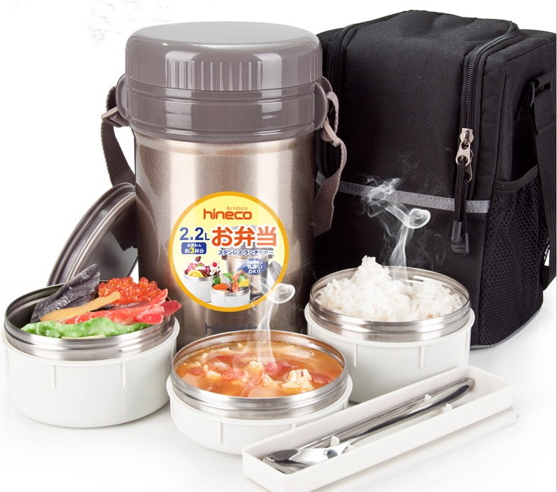 Vacuum insulated food containers lunchbox food jar lunch jar with