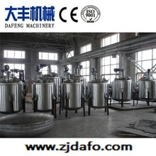 stainless steel electric heating Reactor with agitator