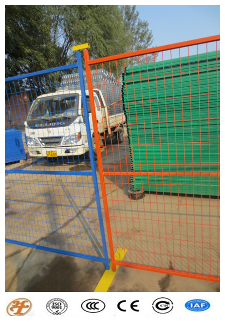 Haotian High Quality Cananda Temporary Fence