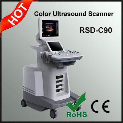 2015 Trolley Color Doppler Ultrasonic Diagnostic System