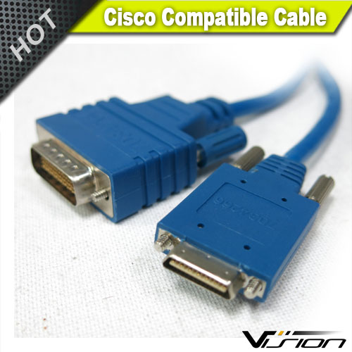 10FT Cisco SMART SERIAL 26 Pin Male to DB25 Male CAB-SS-530MT Router Cable