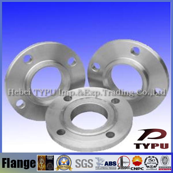 ANSI 304 stainless steel weld neck pipe flange