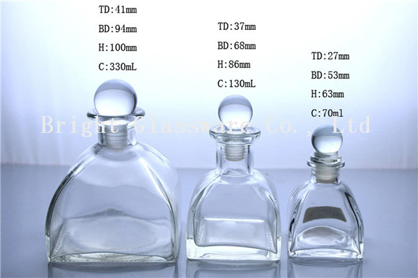 Glass perfume bottle/ diffuse bottle series