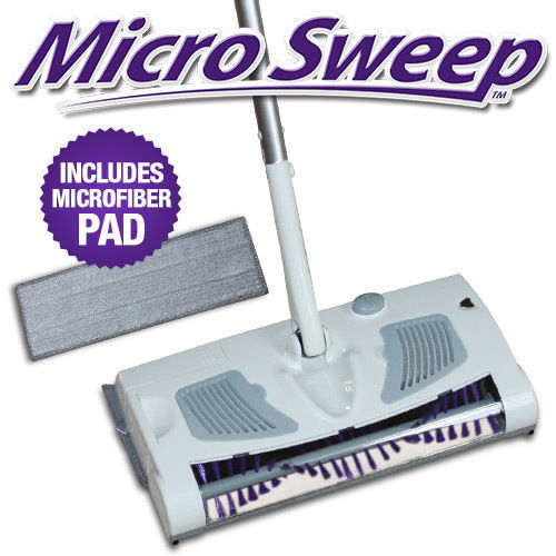 Micro 2 in 1 Cordless Rechargeable Sweeper & Mop