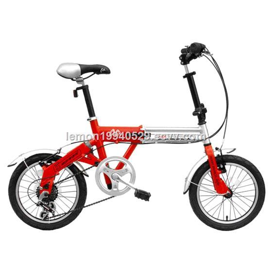 Simple Design and Mini Folding Bicycle