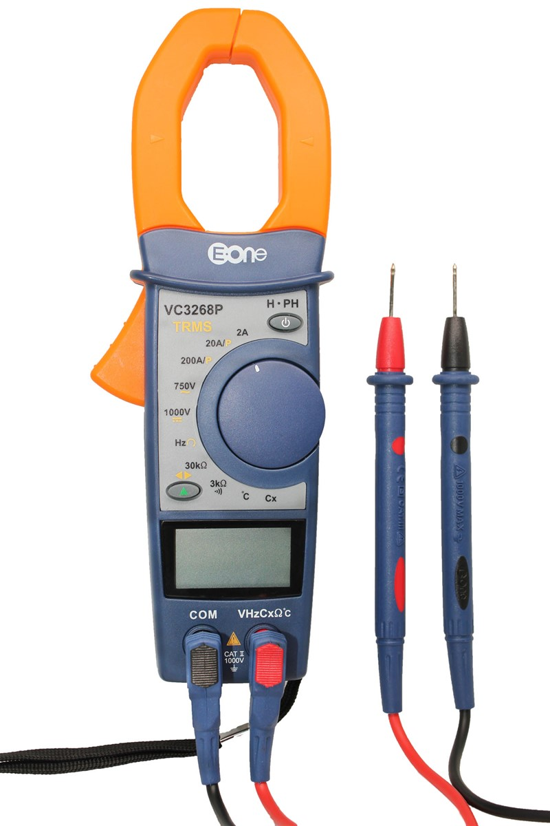 VC3268P True RMS digital clamp Power meter with Temperature measuring/Phase test