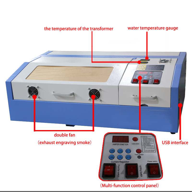 40W mini laser machine for hobby