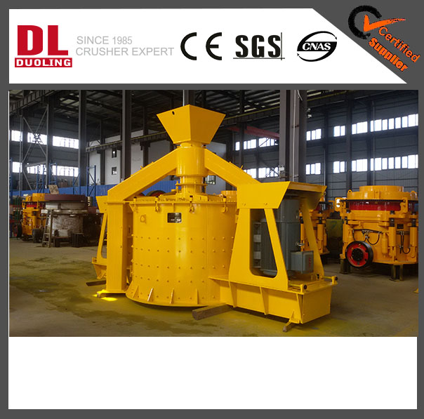 DUOLING (DL) PLC SERIES VERTICAL SHAFT IMPACT CRUSHER EASY MATAINANCE RELIABLE QUALITY