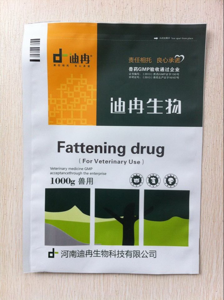 Herbal Fattening Drug Import Veterinary Medicine Chicken Weight Gain with  GMP Certificate